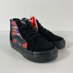 Vans Sk8-Hi Zip Galaxy Floral Black Sneakers